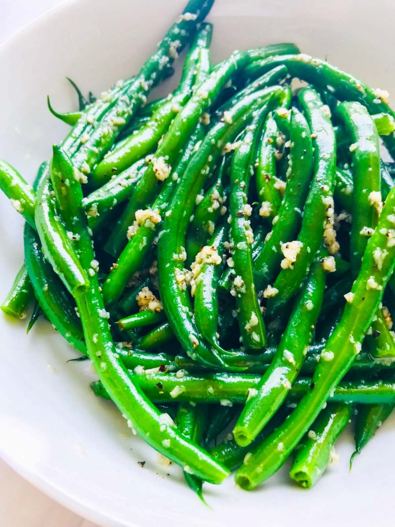 Easy Green Beans Finished Green Beans
